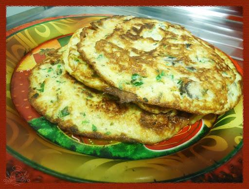 omelete de bacalhau simples