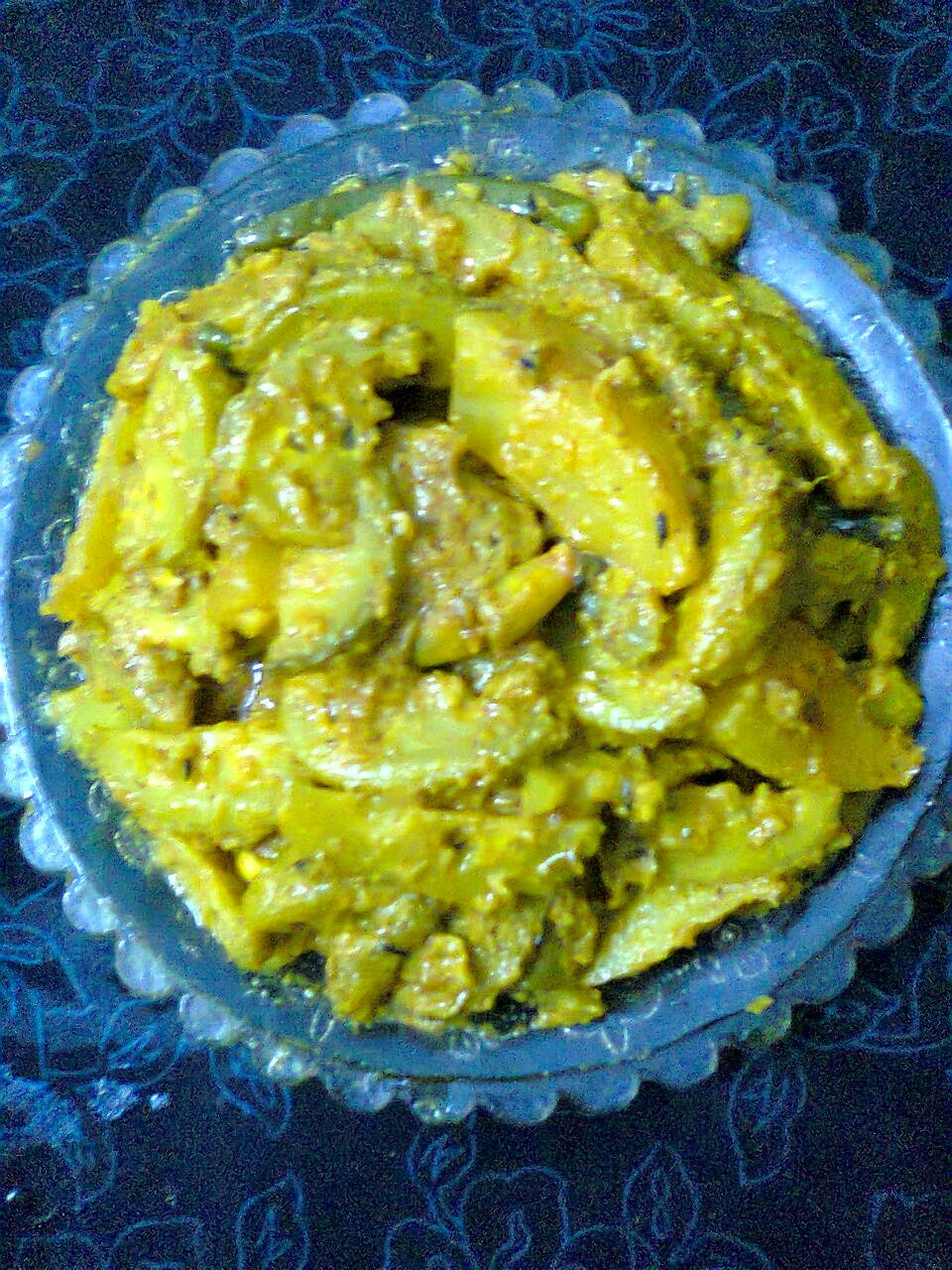 Easy Recipe For Roti – Kakrol Grvy/Teasel Gourd Curry.