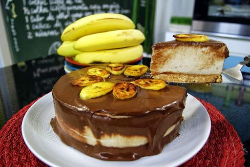 Torta Cremosa de Banana