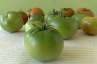 Slatke košarice sa zelenim rajčicama i chutney od zelenih rajčica i jabuka