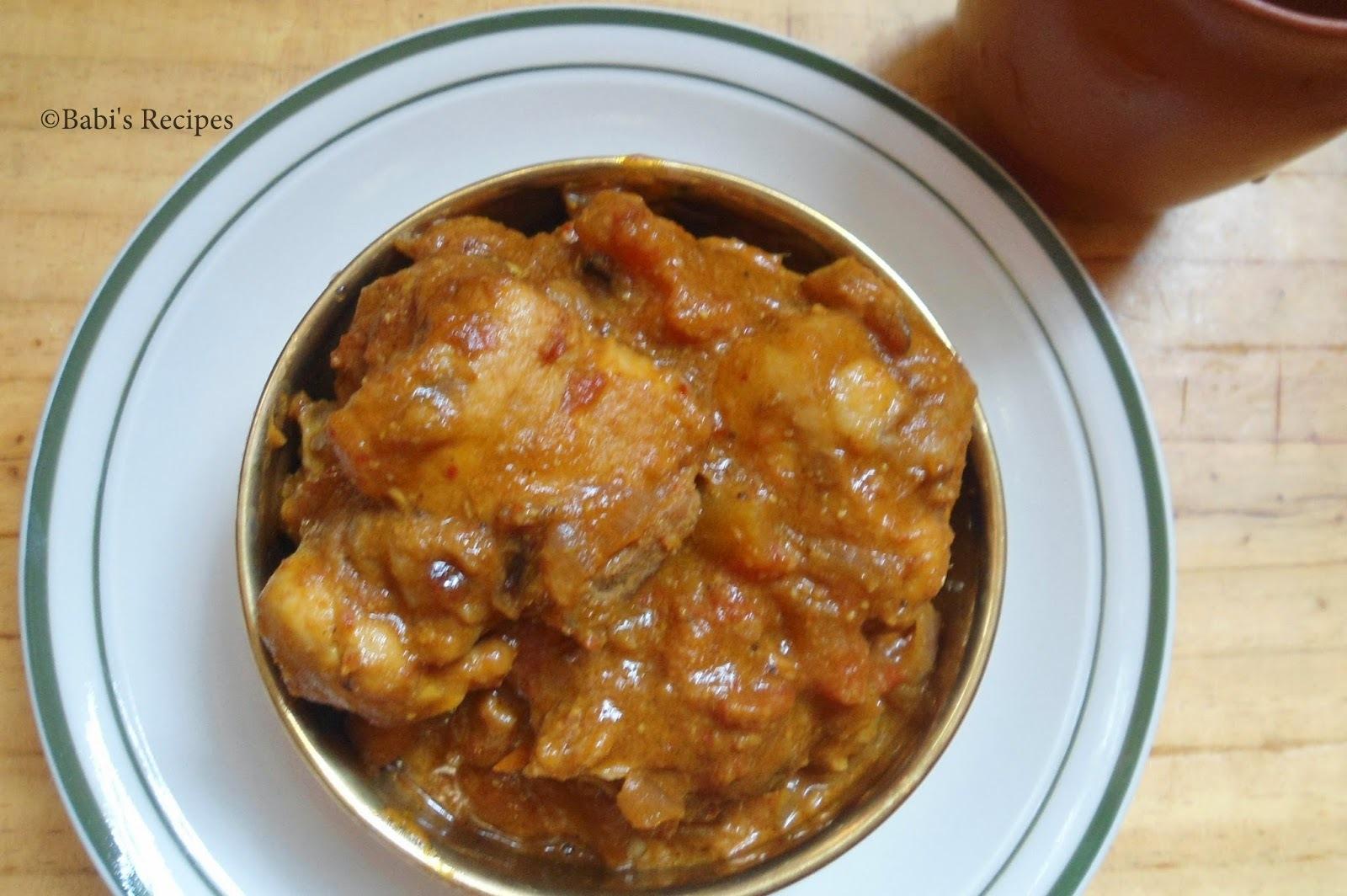 Hyderabadi Chicken curry | Chicken Recipe