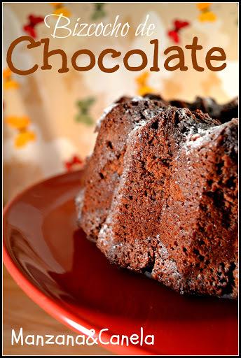 Bizcocho de chocolate para amantes del chocolate