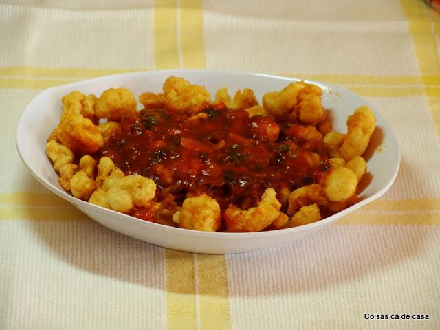 camarão frito crocante