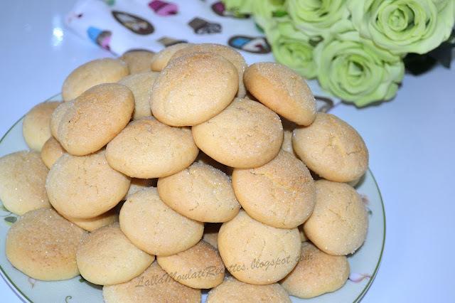 Gâteau marocain à la vanille, Ghoriba marocaine à la vanille