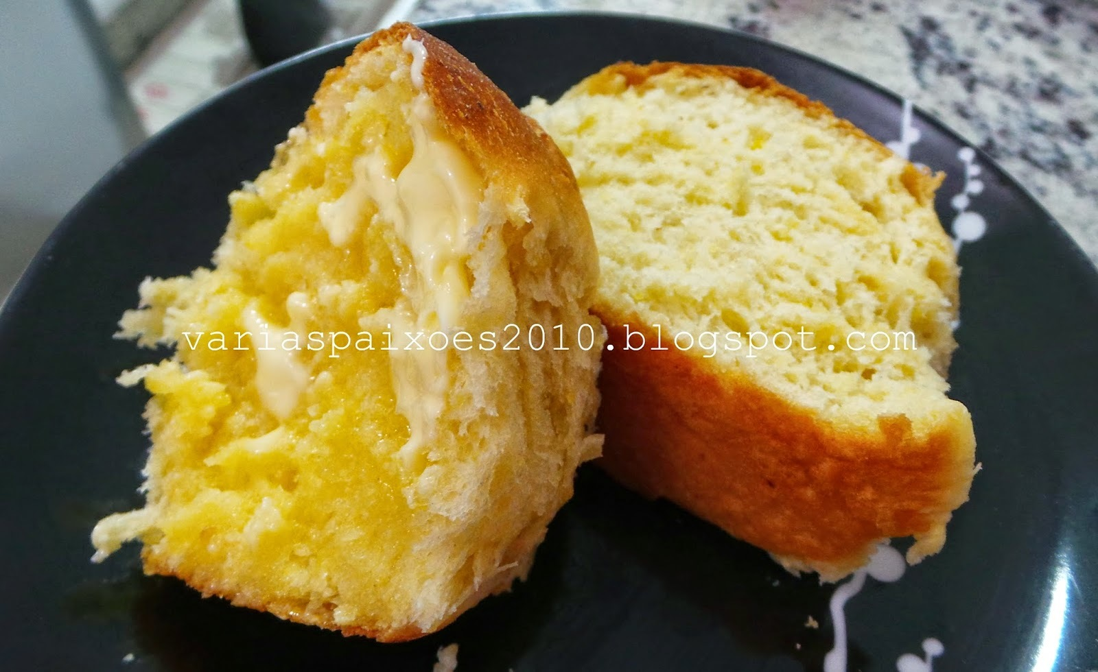 Pão de mandioquinha mega fofo