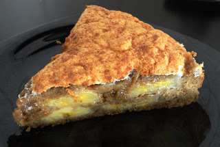 Torta de Banana Mascavo e Canela