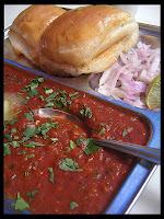 Cauliflower gravy bhaji