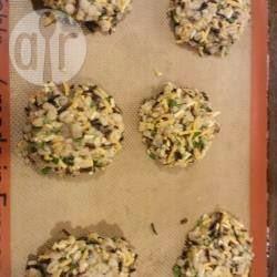 Croquetas de arroz integral y cebada perlada