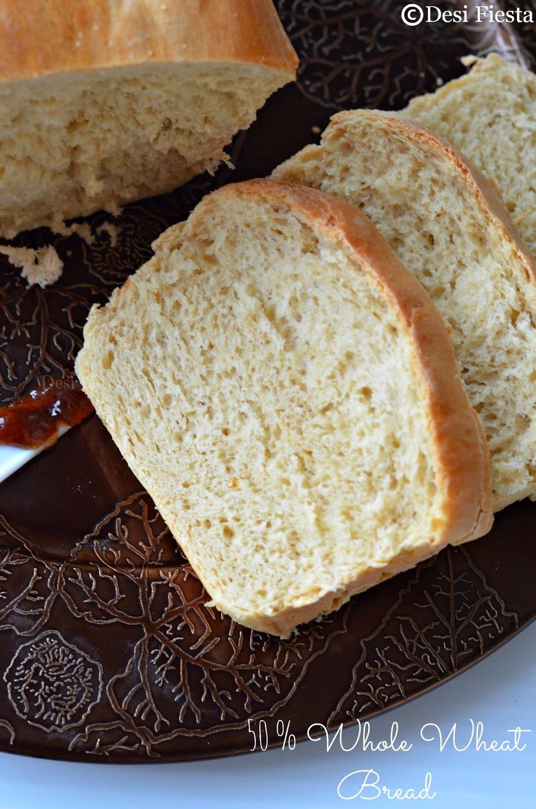 50 % Wheat Flour Bread