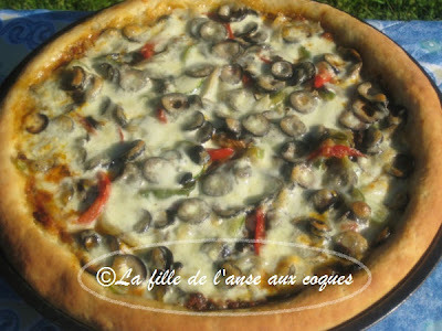 PIZZA À LA SAUCISSE ITALIENNE