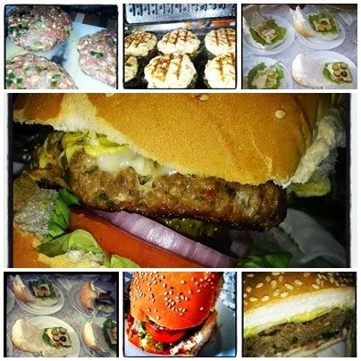 hamburguer de carne moida no microondas
