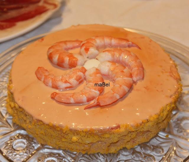Torta de langostinos (como la del Corte Ingles)