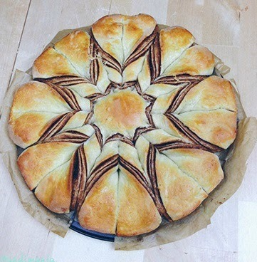 nutella com pão de forma