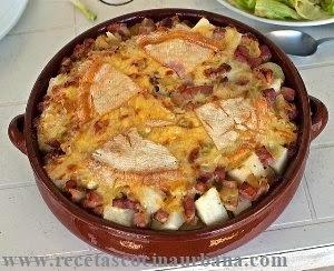 Como preparar Tartiflette, receta típica de los Alpes franceses