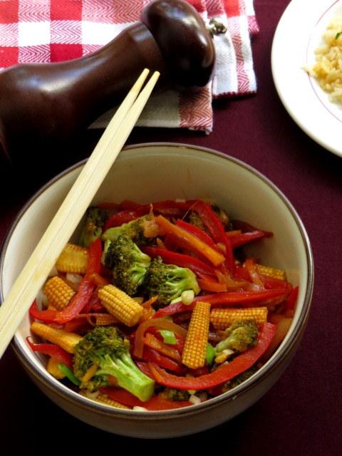 Hunan Veg Stir Fry