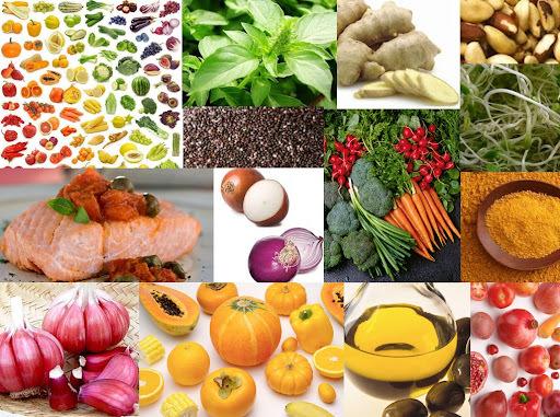 Alimentos antiinflamatórios