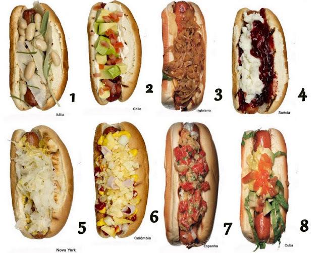 Hot Dog Também é Cultura! - Parte II (Mundo)