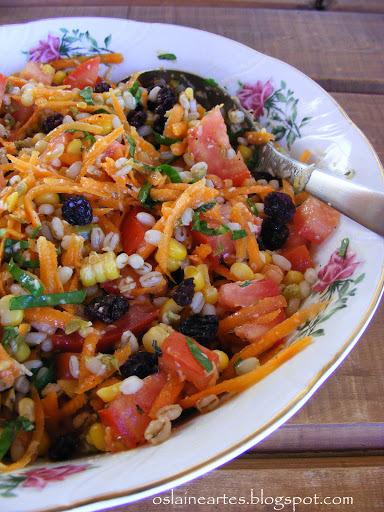 Salada com Cevada