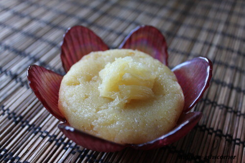 Pineapple Sheera/Pineapple Sooji/Semolina Halwa