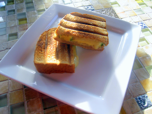 Pepper Jack & Avocado Grilled Cheese