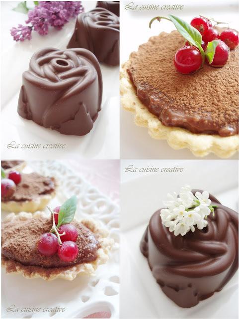 Cokoladne ruze i krostata od cokolade
