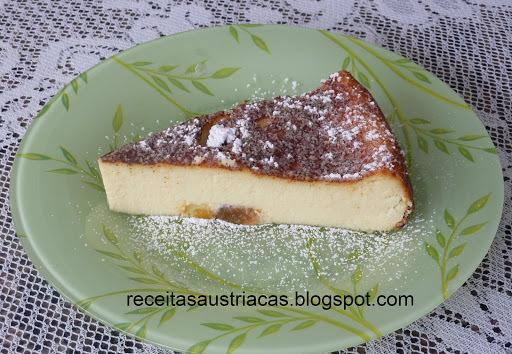 de torta de ricota doce integral
