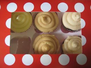 Salted caramel cupcakes - a taste testing adventure