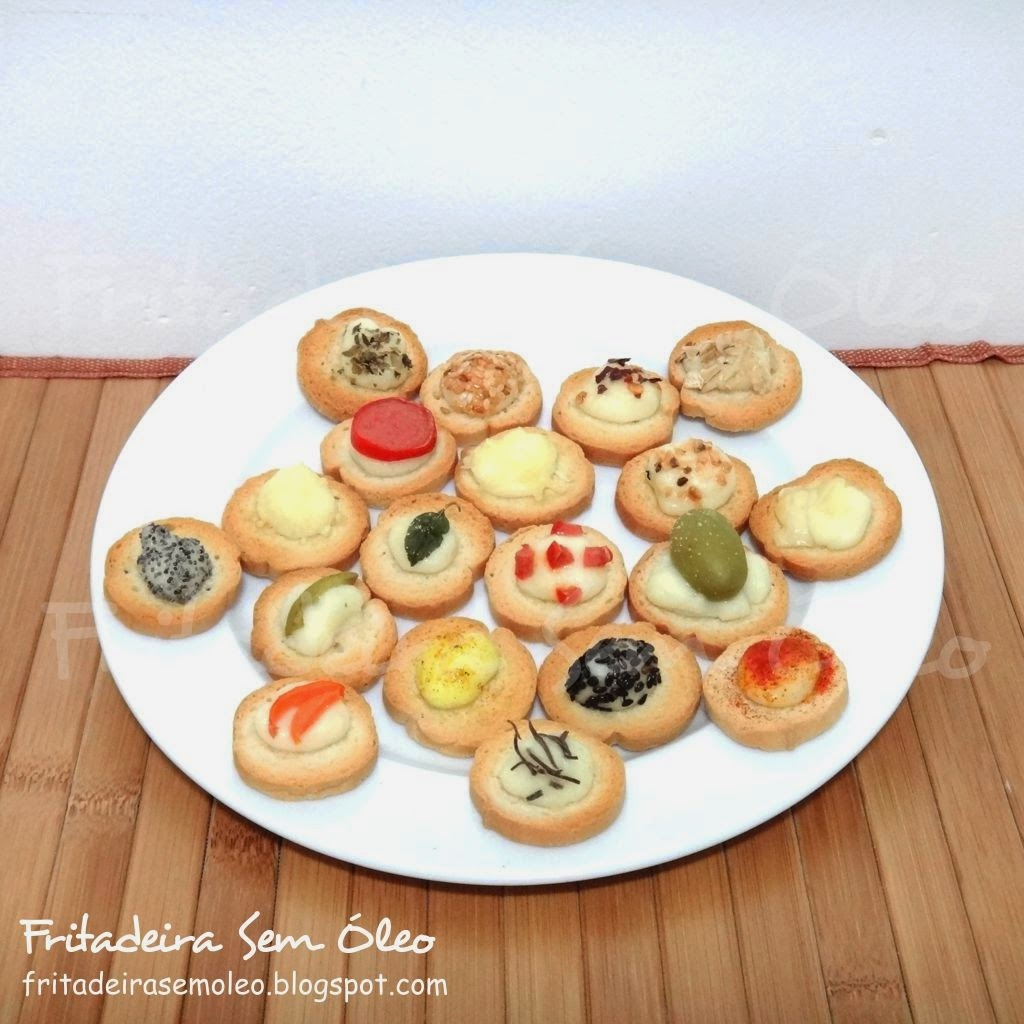 Canapés Quentes na AirFryer