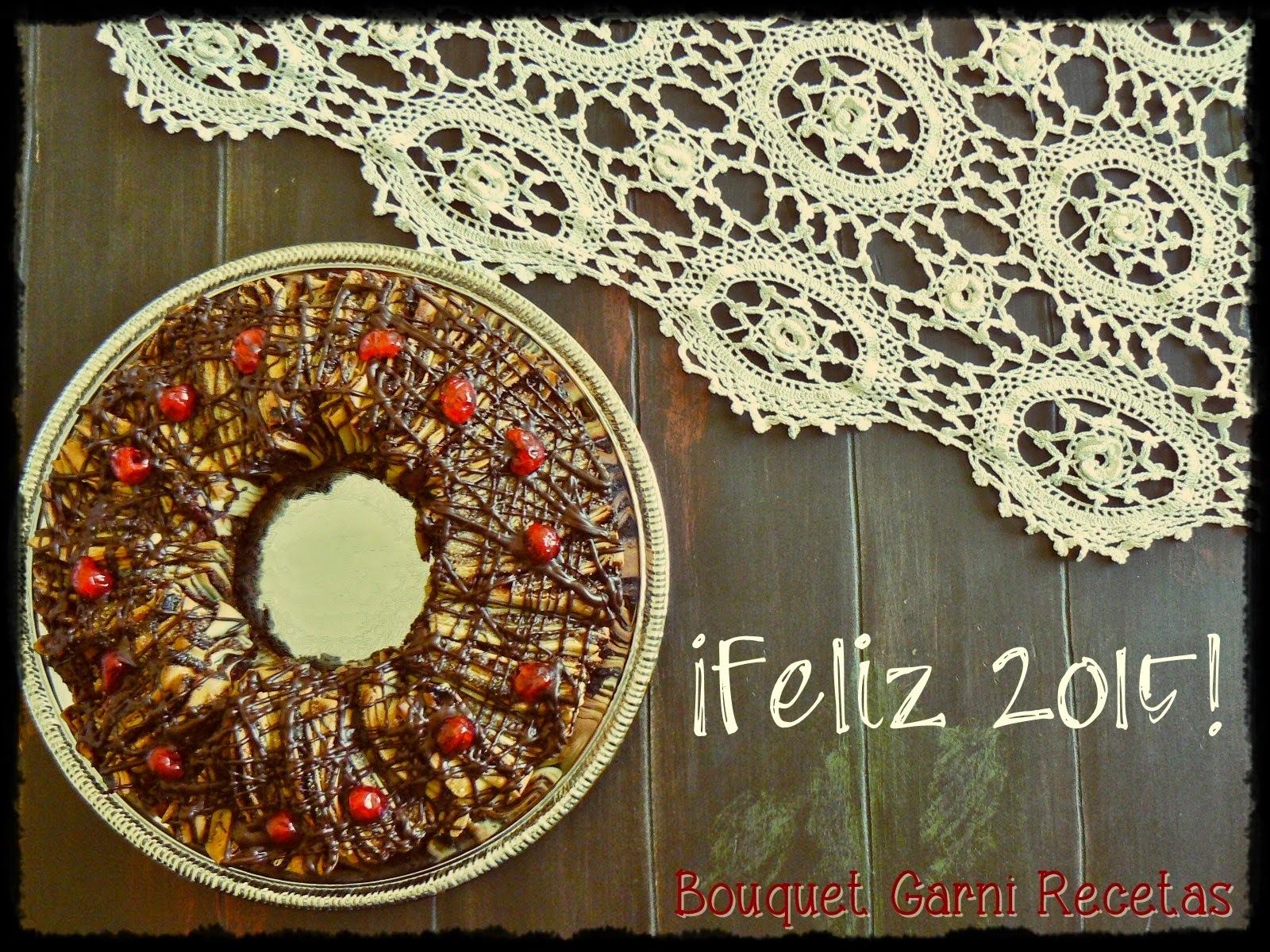 Rosca de Reyes diferente ¡Feliz 2015 para todos!