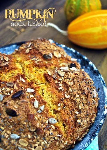 {bake the world} pumpkin soda bread