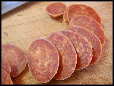 Charcuterie maison: une recette de saucisson csabaï pour me faire plaisir (saucisse fermentée, fumée, séchée)