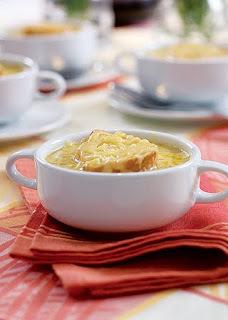 Sopa para aquecer corpo e alma!