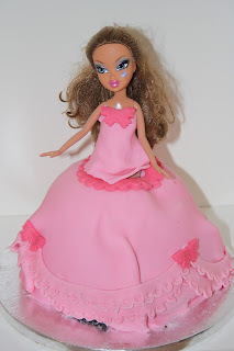 Pink Princess Doll Cake