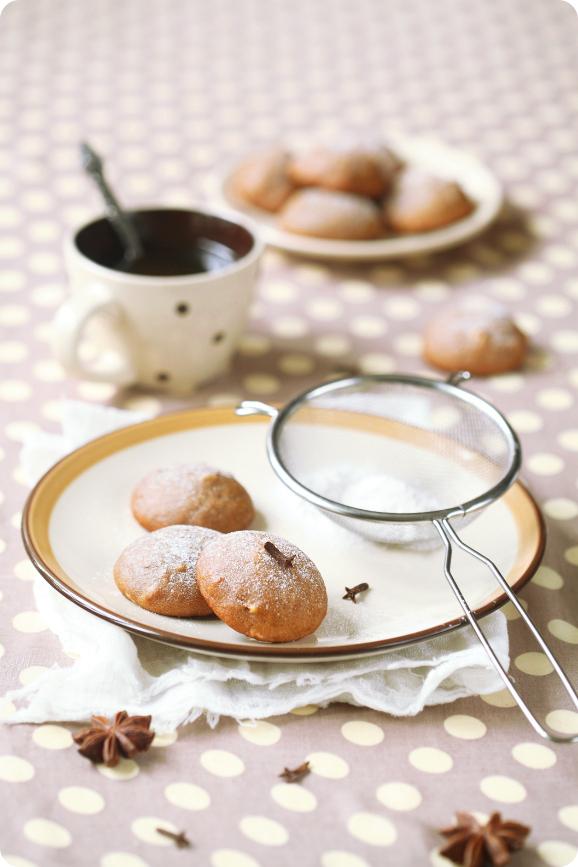 Постное пряное печенье / Bolachas de especiarias (sem leite e ovos)
