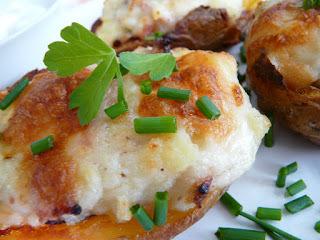 Gazdovské zemiaky plnené bryndzou