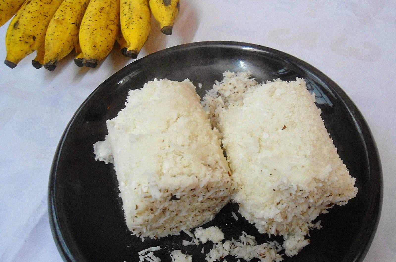 Rice Flour Puttu | Steamed Rice flour cake | Kerala Breakfast Recipe