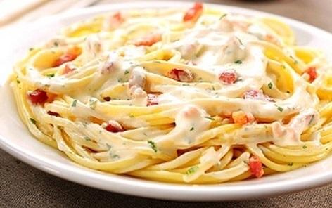 Receta de espaguetis a la carbonara rapidos