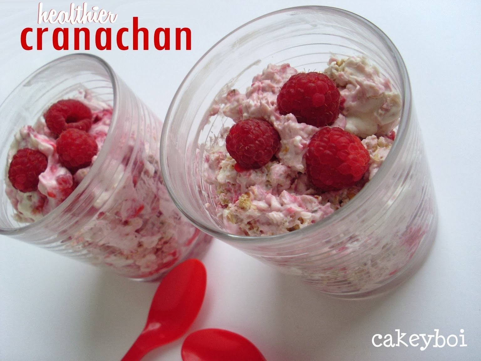 Healthier Cranachan for Burn's Night