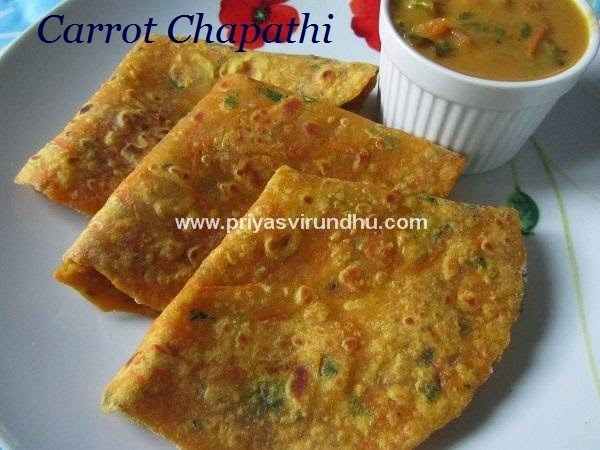 good side dish for chapathi without potato and paneer