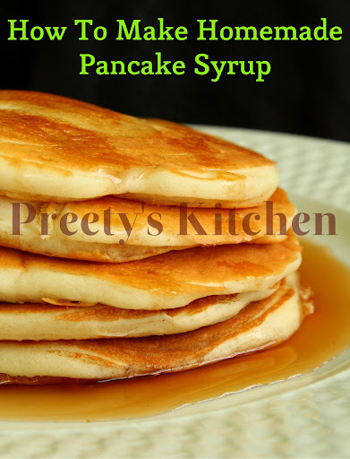 How To Make Homemade Pancake Syrup ( Super Easy & Inexpensive )