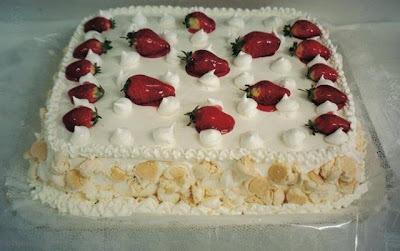 de gel de brilho para morango decorar bolo