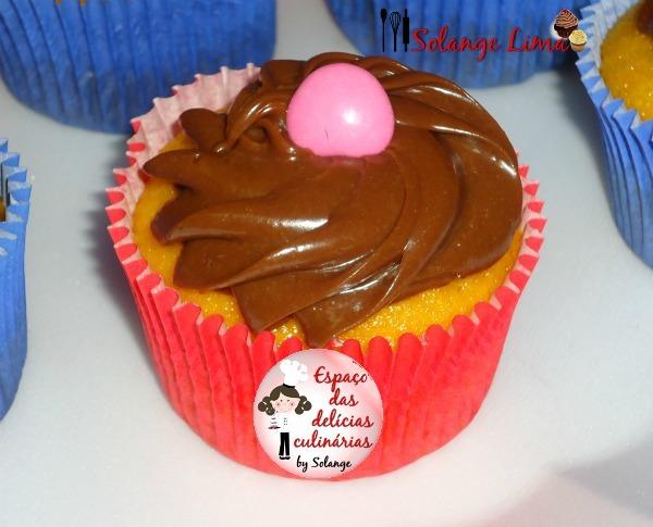Cupcacke de cenoura e chocolate - Receita enviada por Solange Lima