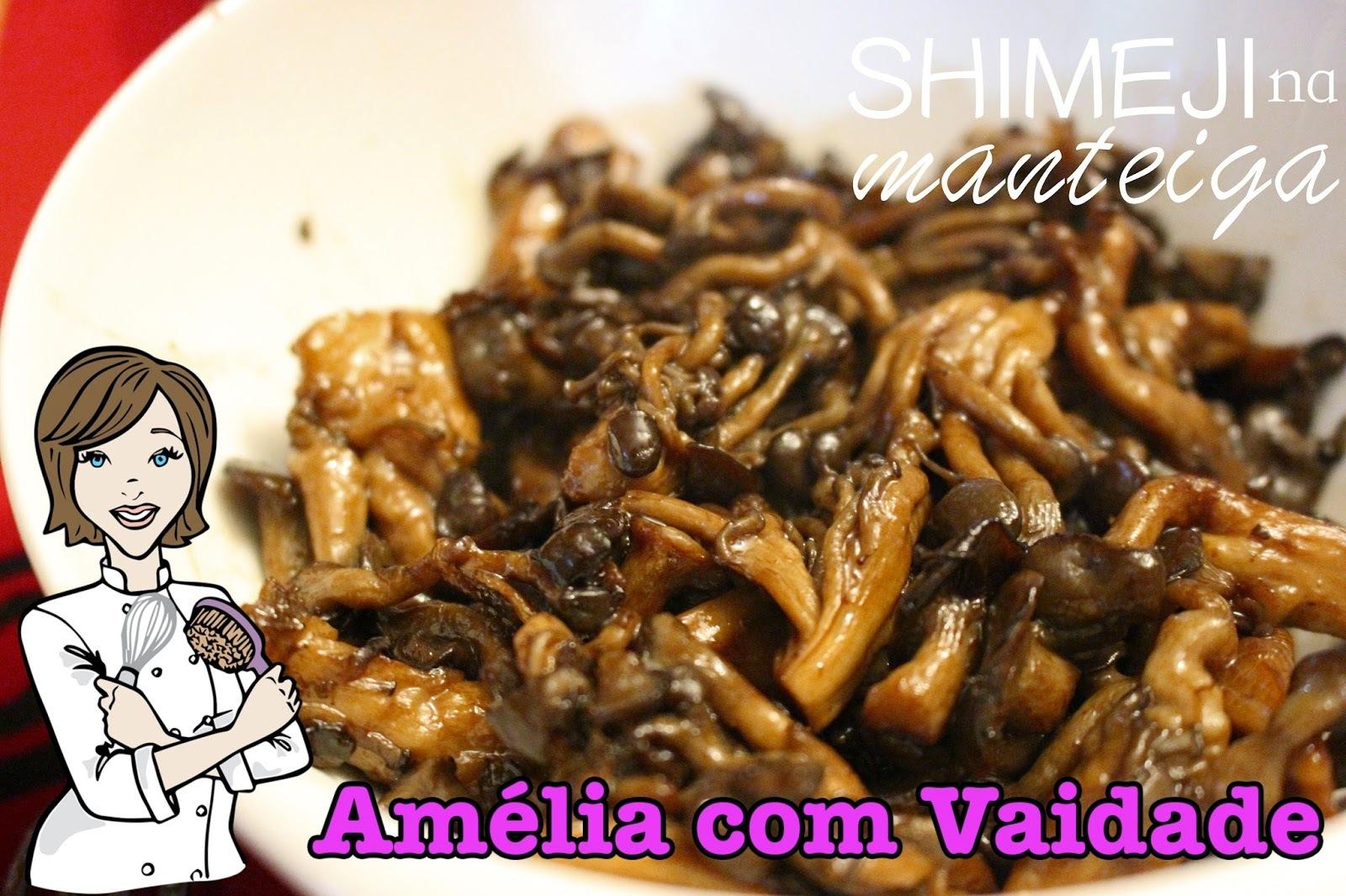 Shimeji na manteiga