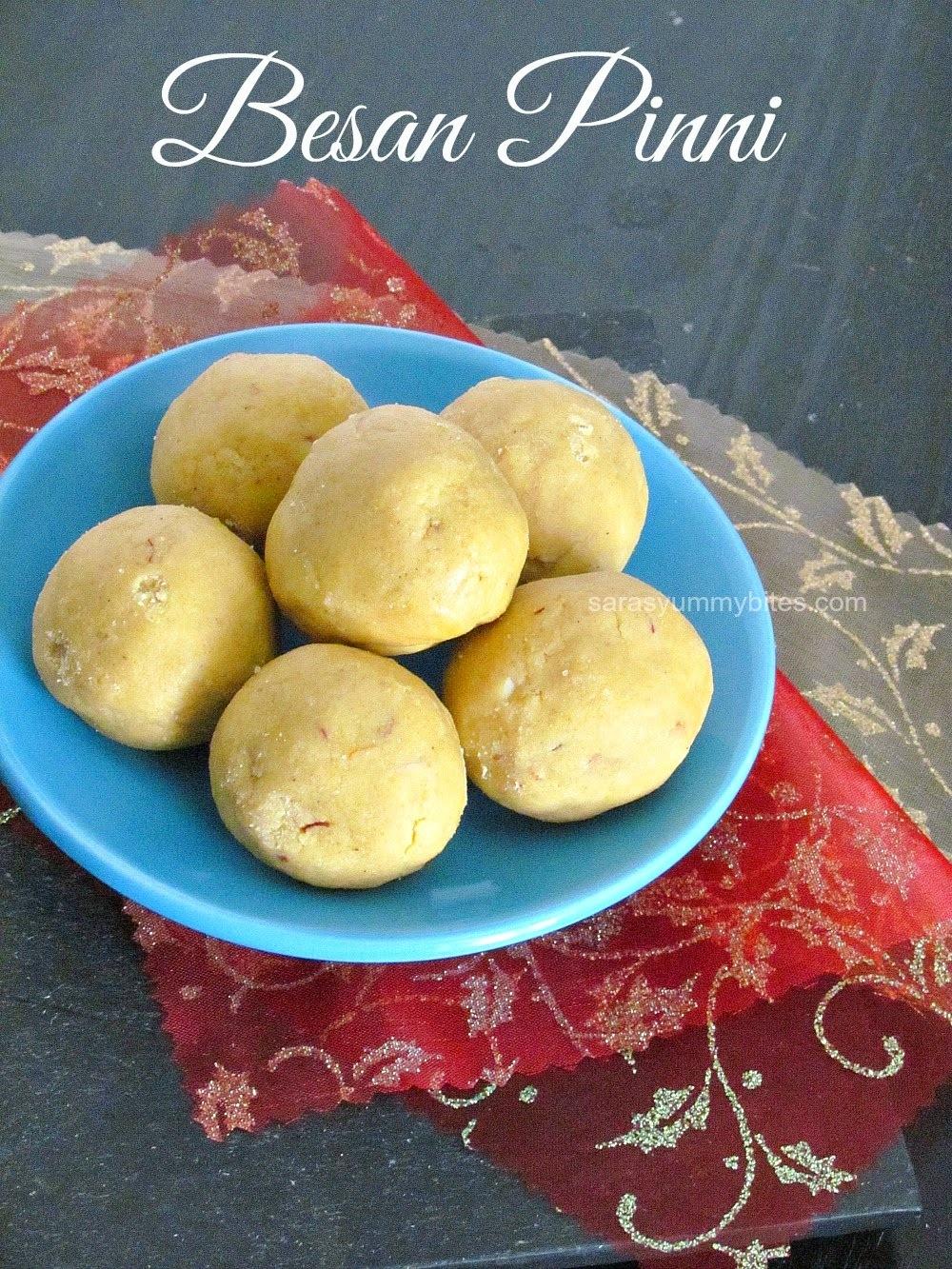 Besan Pinni ~ Haryana Quick sweet