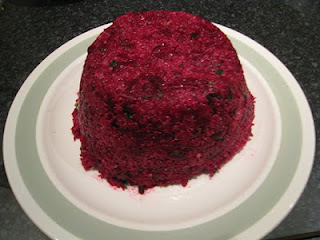 jellied beetroot mould