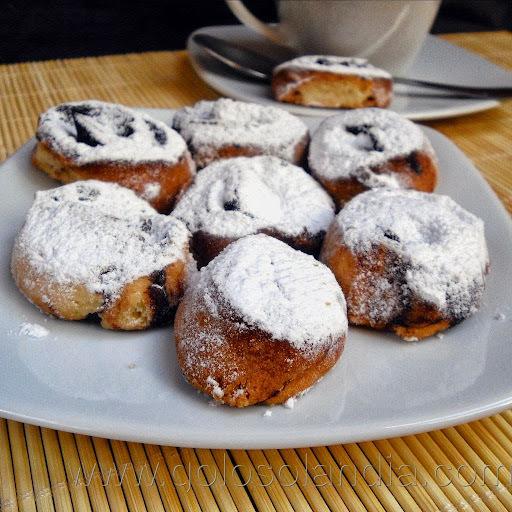 Pastas de canela o cacao