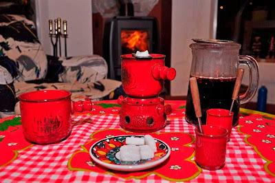 Vino caliente (Feuerzangenbowle)