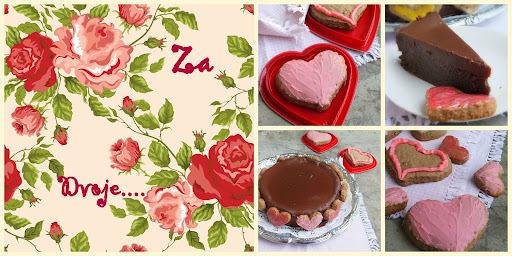Čokoladna Torta i Punč Srca-Keks