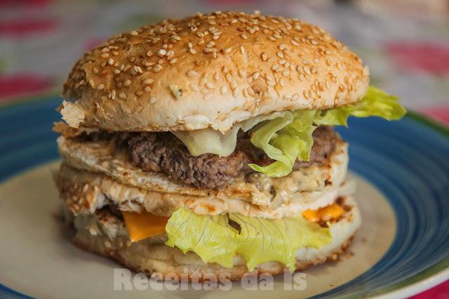 molho especial para sanduíche com maionese caseira