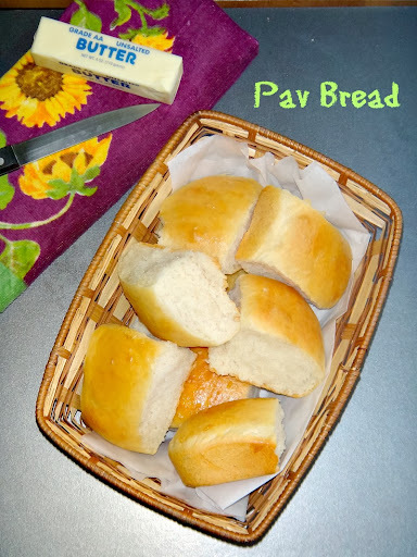 Homemade Pav Breads/Dinner Rolls